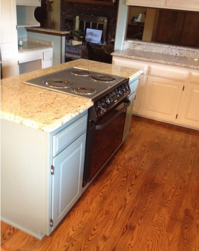 AFTER Finished Kitchen Cabinets - Johnsburg IL
