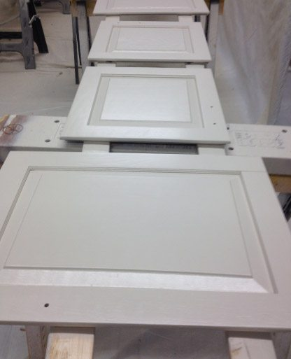 Finish Painted Kitchen Cabinet Doors - Johnsburg IL