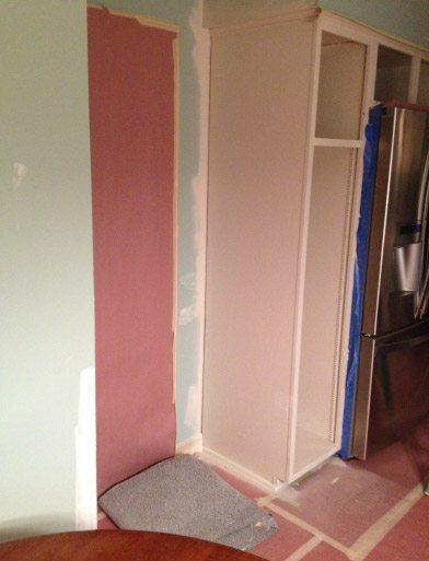 Finish Sprayed Kitchen Cabinets Doors With Accent Colors 2 - Johnsburg IL