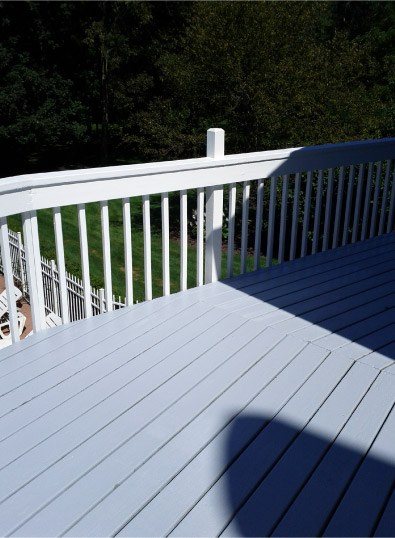 2 Color Stained Deck - Barrington IL