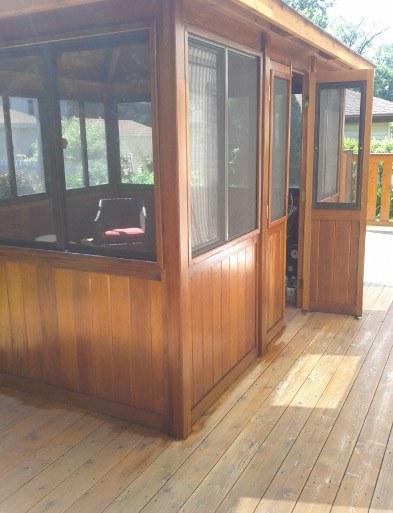 Exterior Cedar Staining