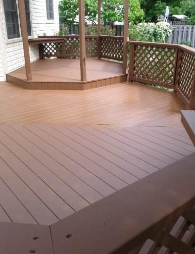 Finished Cedar Deck - Buffalo Grove IL