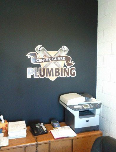 Accent Wall Center Guard Plumbing