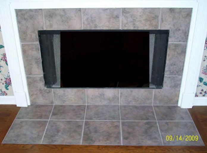 Fireplace Mauve