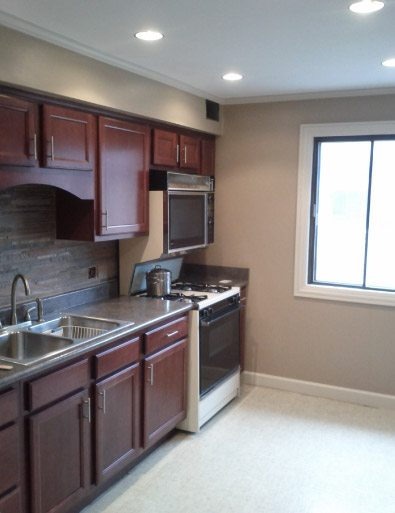 Kitchen Finish Painting - Chicago IL