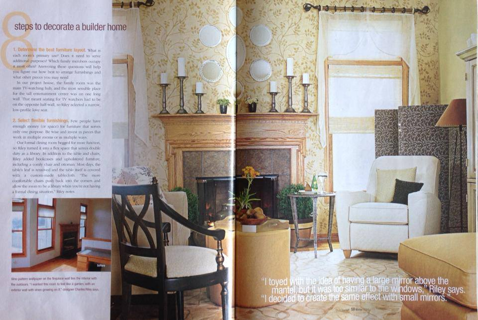 JP Interiors, LLC featured in Better Homes & Gardens 2
